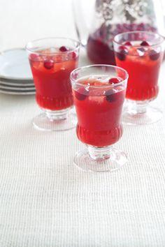 Cranberry-Bourbon Sippers at PaulaDeen.com