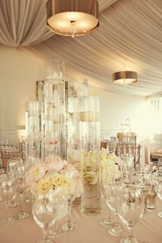 event decor, float candl, floating candles