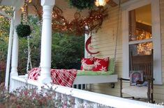 Porch Swing for Naps and Sleeping