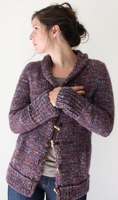 Ravelry: Campus Jacket pattern by Amy Christoffers WANT THIS IN CROCHET!