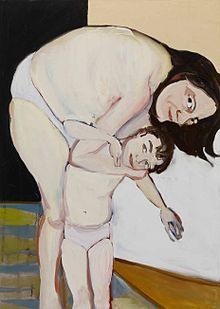 Chantal Joffe  Google Image Result for http://upload.wikimedia.org/wikipedia/en/thumb/0/0d/Chantal_Joffe,_Self-Portrait_with_Esme.jpg/220px-Chantal_Joffe,_Self-Portrait_with_Esme.jpg