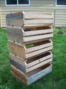 How to Make Fruit Crates from Pallets diy » The Homestead Survival