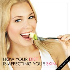 how your diet is affecting your skin from what you drink to what you eat