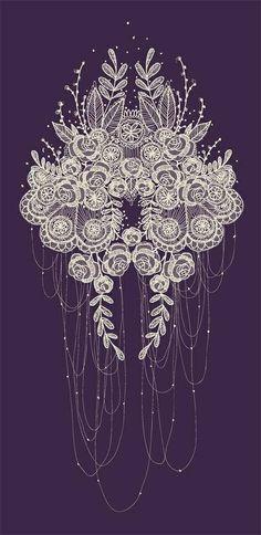 Pretty lace pattern