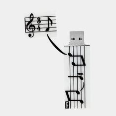 Music 4GB USB Drive