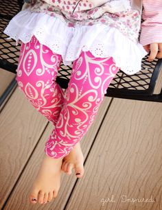 Girl. Inspired.: Leggings - Go To Patterns