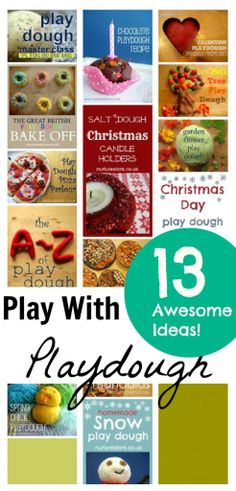 13 Top Play Ideas With Play Dough