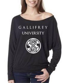 Doctor Who Tarids GALLIFREY UNIVERSITY Long by GoGetYourGeekOn, $20.00