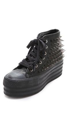 UNIF Koop Stud High Top Sneaker