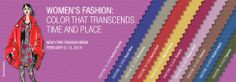 Pantone Fashion Color Report Fall 2014