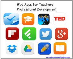 Indispensable iPad Apps for Teachers Professional Development ~ Educational Technology and Mobile Learning
