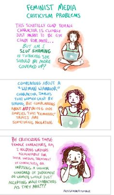 Dilemmas in feminism. ALL THE TIME.