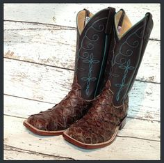 Anderson Bean Big Bass Boots from Mule Barn.