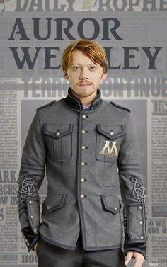 Auror Weasley.