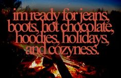Come on, Autumn...I'm ready.  =)