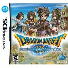 Embarking on my first Dragon Quest! Hoping it's full of dragons and quests and slimes