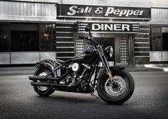 New Harley-Davidson Softail.