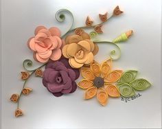 Paper Quilling Patterns Designs   Quilling and Floral Punch Art Patterns Custom Quilling One Stop ...