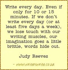 Quotable - Judy Reeves - Writers Write
