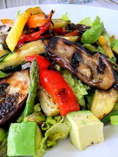 Grilled Vegetable Salad - Proud Italian Cook
