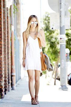 White Summer Dress   damsel in dior