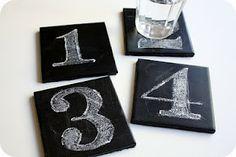 Chalkboard ideas. So cute!