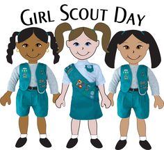 girl scout world thinking day 2014 clipart - Google Search