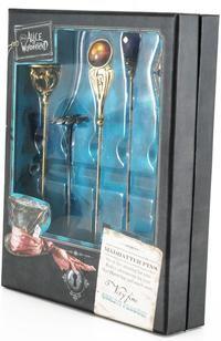 Alice In Wonderland - Box of Hat Pins.
