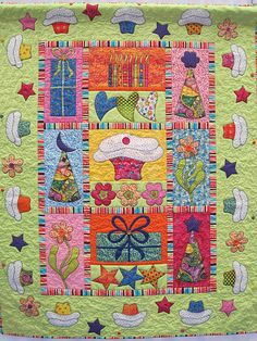 Sew Many Quilts & Blocks I Love!  love the colors