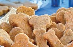 Peanut Butter & Banana treat recipe for your four-legged love this Valentine's Day!