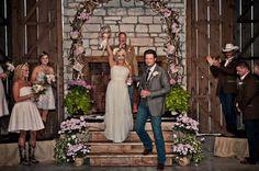Miranda and Blake, love how she had everything decorated