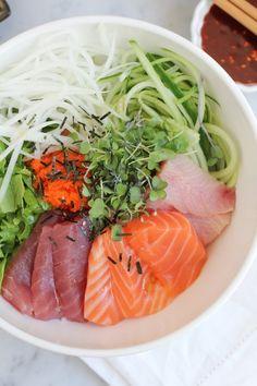 Recipe: Korean Mixed Rice with Sashimi — Recipes from The Kitchn