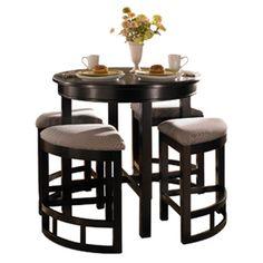 Bridgeport Counter Table in Black.