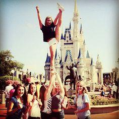 #cheerleading #cheer #cheerstunts #cheerstunt #stunting #stunts #stunt #flexibility #flexible #disneyworld #waltdisneyworld #magickingdom #cinderellascastle #heelstretch