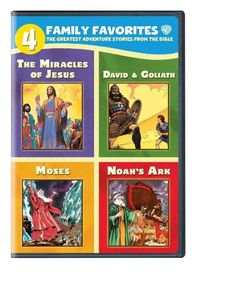 A four set DVD collection of some of the greatest adventures in the Bible.