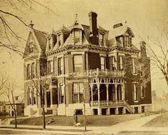 John C. Orrick Residence. 25 Vandeventer Place. ca 1888