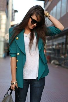 blazer love...i'll take one in every color!