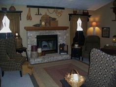 images of primitive rooms | Primitive Place ~ Primitive & Colonial Inpired Living Rooms