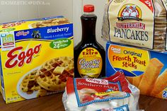 Easy Breakfast Options for Kids, available at Walmart