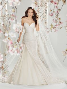 Sophia Tolli - Style No. Y11401, Cersei - not only is the brocade on this dress stunning, but Tolli's whole Spring 2014 collection is named after Game of Thrones characters. I LOVE this woman.