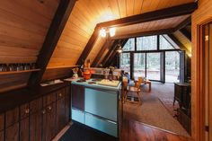 Airbnb A-Frame Cabin Rental | Apartment Therapy