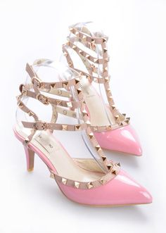 Valentino in gold and pink