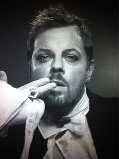 Eddie Izzard. Surprising cross-dressing marathon running stand up comedian and actor with social conscience.