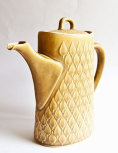 "Kronjyden Nissen ""Relief"" design Coffee Pot."