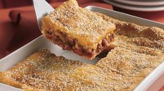 Sloppy Joe Squares - made with crescent rolls!