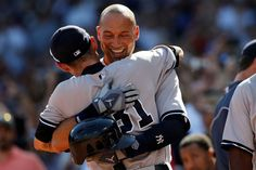Derek Jeter's final game - replaced by runner after hitting his final ball in the third inning