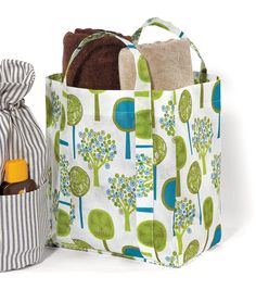 #DIY Utility Fabric Tote Bag
