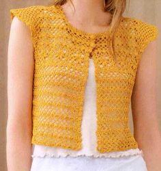 sweaters and shawls crochet   Crochet Sweater: Crochet - Crochet Vest Pattern Charts, Craft, Crochet Chart, Crochet Sweaters, Vest Pattern, Boleros, Crochet Vests, Crochet Cloth, Crochet Bolero