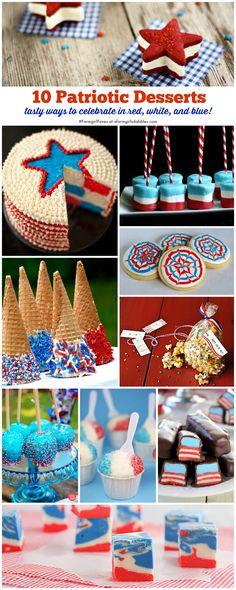10 Patriotic Desserts