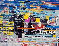 color, media art, collag, marc bradford, mark bradford